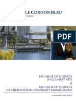 Le Cordon Bleu Paris Bachelor Programmes