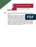 SPMET Metrologia Conceitos Basicos