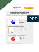 Cuestionario TIC-EF