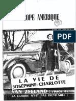 Europe Amérique - 1 Février 1951 - Van Zeeland
