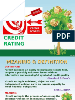 Credit Rating Presentation