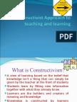 Ppt constructivism