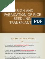 Paddy Transplanter