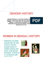 Gender History (2)