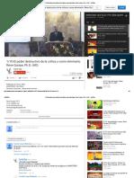 1_10-El Poder Destructivo de La Crítica y Como Eliminarlo. Rene Quispe, Ph.D