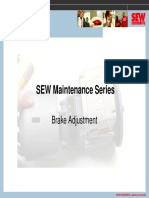 Brake Adjustment and service