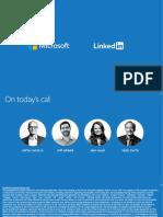 LinkedIn/MSFT deal