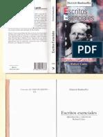 Bonhoeffer, Dietrich - Escritos Esenciales