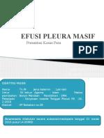 Efusi Pleura Masif