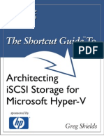 The Shortcut Guide to Architect Ing iSCSI Storage for Microsoft Hyper-V