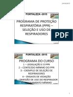Programa de proteção respiratoria