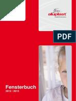 HB Aluplast Fensterbuch 2012 2013