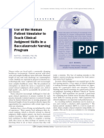 Article-Use of the Human Patient Simulator to Teach Clinical Judgment Skills in a Baccalaureate Nursing Program.pdf