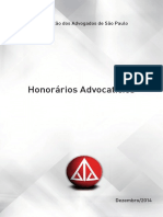 Honorarios Advocaticios