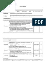 Sesión de Aprendizaje Xv PDF