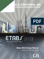 Shear Walls by Etabs