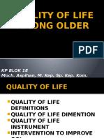 Quality of Life Among Older