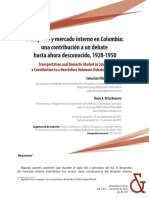 Transporte y Mercado Interno en Colombia 1928-1950