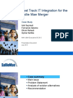 FastTrack IT Integration for Sallie Mae Merger Final 1