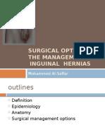Surgicaloptionsinthemanagementofherniarepair 090528073720 Phpapp01 (2)