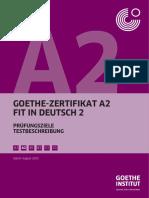 Pruefungsziele Testbeschreibung A2 Fit2