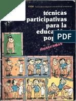 CIDE TéCnicas Participativas Para La Educacion Popular Ilustradas