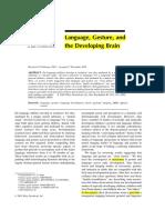 1. Language gesture & the developing Brain.pdf