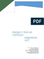 pop-up capsule compleet