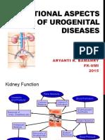 Nutritional Aspects of Urogenital Diseases