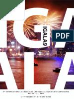 IGALA9 Programme Booklet