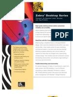 Zebra Printer TLP 2844 com