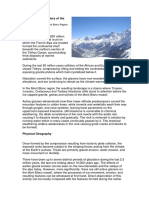Geological History of the Alps