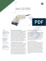 Motorola Symbol LS1203 - Barcode Scanner - Www.trridevlabelss