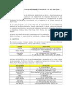 Bases de Concurso Instalaciones Electricas de Luz Del Sur 2016
