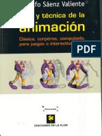 Arte y Técnica de La Animación de Rodolfo Saenz Valiente