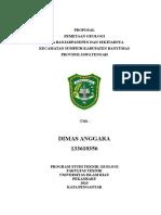 Proposal penelitian geologi