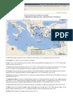 Mapas e Índice de Nomes de Lugares_ as Viagens Missionárias Do Apóstolo Paulo