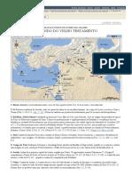 Mapas e Índice de Nomes de Lugares_ O Mundo Do Velho Testamento