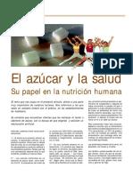 Articulo El Azucar y La Salud Su Papel en La Nutricion Humana.