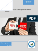 Modulo I - Práctica de Análisis y Descripción de Puestos