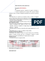 ESPECIFICACIONES TECNICASx