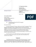 DOJ Letter of Findings