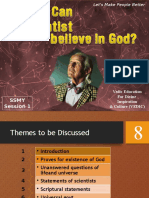 """""""Can a Scientist Believe in God"""""""