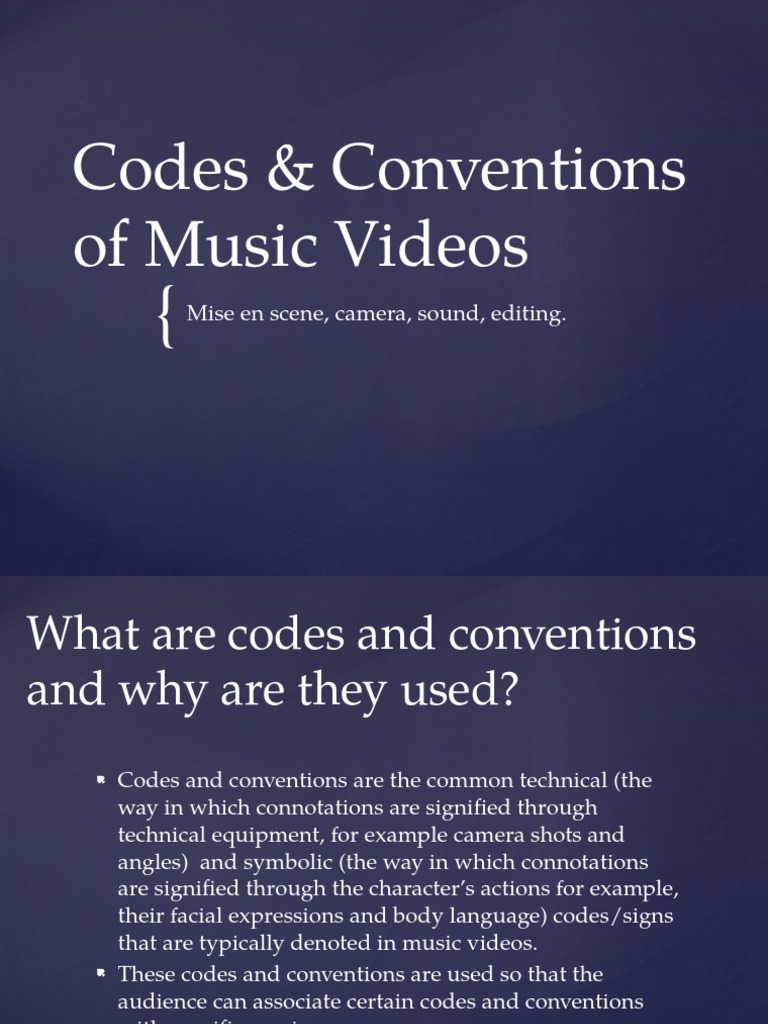 Codes and conventions of music videos pop culture narrative buycottarizona