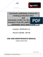 Manual Palletizer 825pa001