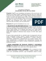 Consulta tributaria sobre inscripción en IPS Paraguay