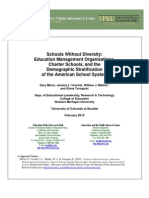 Schools Without Diversity EMOs Charter Schools and Demographic Stratification