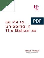 Shipping in the Bahamas
