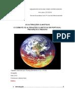 Alterações Climáticas em Portugal- Geografia A 11ºano
