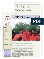 Boletim Mensal da BE/CRE _ Fevereiro 10